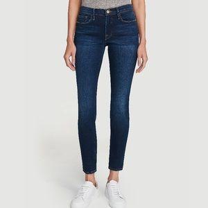 Frame Le Skinny De Jeanne Mid Rise Skinny Jeans